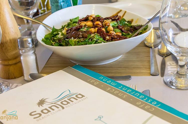 Santana Beach Restaurant In Naxos Agia Anna Restaurants Hotels